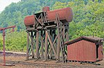 McCabe Oil Tank w/Pump House - Kit - 2 x 4-1/2'' -- HO Scale Model Railroad Building -- #27494