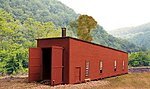 Single-Stall Switcher Shed - 2-13/16 x 9-5/8'' -- HO Scale Model Railroad Building -- #27502