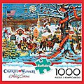 Small Town Christmas 1000pcs -- Jigsaw Puzzle 600-1000 Piece -- #11425