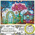 Songbird Garden 500pcs Build/Color -- Jigsaw Puzzle 0-599 Piece -- #3843