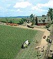 Corn Field - Kit - 10 x 10cm -- HO-Scale Model Railroad Grass Earth -- #1202