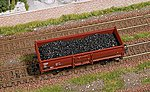 Coal Load -- HO Scale Model Train Freight Car Load -- #1680