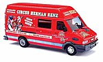 European Van Iveco Daily - Circus Renz -- HO Scale Model Railroad Vehicle -- #47922