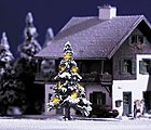 Christmas Tree w/Working Lights -- HO Scale Model Railroad Tree -- #5410