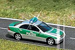 Mercedes Police Car w/Blinking Lights -- HO Scale Model Railroad Vehicle -- #5630