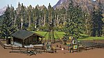 Forest Recreational Accessory Set -- HO Scale Model Railroad Building Accessory -- #6042