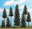 Spruce Forest - Includes 8 Trees & Small Animals -- HO Scale Model Railroad Tree -- #6391