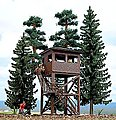 Lookout Tower and Visitor Platform Kit -- HO Scale Model Railroad Tree -- #6394