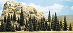 Pine Trees (60 Various Sizes ) -- HO Scale Model Railroad Tree -- #6472
