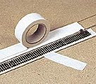 Track Ballast Tape Only 10' Long x 1-5/8'' Wide -- HO Scale Model Railroad Scenery -- #7119