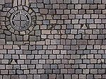 Printed Surface Sheets pkg(2) Cobblestone -- HO Scale Model Railroad Road Accessory -- #7417