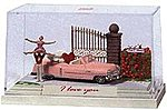 Guard Duty Miniature Scene -- HO Scale Model Railroad Figure -- #7645