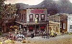 Sherry's Scarlet Slipper Saloon -- HO Scale Model Railroad Building Kit -- #378
