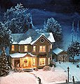 Gran'ma's House -- HO Scale Model Railroad Building Kit -- #387
