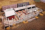 M E Nelson Livestock Company -- HO Scale Model Railroad Building Kit -- #400