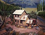 Dewitt's Depository -- HO Scale Model Railroad Building Kit -- #412