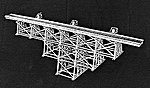 Tall Timber Trestle Kit -- HO Scale Model Railroad Trestle Kit -- #751