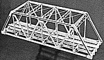 125' Double Track Truss Bridge -- HO Scale Model Railroad Bridge Kit -- #764