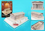 The Parthenon (Greece) (25pcs) -- 3D Jigsaw Puzzle -- #76