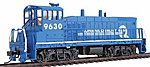 EMD MP15 with DCC Conrail #9630 -- Model Train Diesel Locomotive -- HO Scale -- #1165602