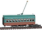 Electroliner Add-on Coach -- HO Scale Trolley and Hand Car -- #8714