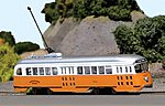 PCC Streetcar Boston Elevated Railway -- HO Scale Model Train Locomotive -- #93012