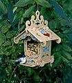 Black Forest Bird Feeder -- Wooden Bird House Kit -- #7102
