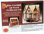 Greenleaf The Orchid -- Wooden Doll House Kit -- #9301