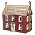 Greenleaf The Willow -- Wooden Doll House Kit -- #9305