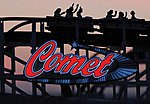 Comet Rllrcstr Neon Sign - HO-Scale