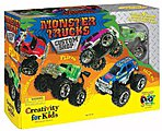 Monster Trucks Custom Shop -- Activity Craft Kit -- #1166000
