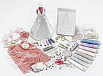 Special Occasion Fashion Set -- Fabric Craft and Activity -- #1257000