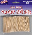 Mini Craft Sticks (250)