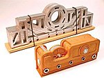 Driveshaft & Pulley Load 120 Ton -- HO Scale Model Train Freight Car Load -- #7285