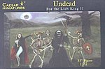 Fantasy Undead Fighting Skeletons -- Plastic Model Fantasy Figure -- 1/72 Scale -- #103