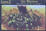 Fantasy Orc Warriors -- Plastic Model Fantasy Figure -- 1/72 Scale -- #106
