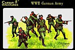 WWII German Army (37) -- Plastic Model Military Figure -- 1/72 Scale -- #37