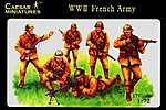 WWII French Army (37) -- Plastic Model Military Figure -- 1/72 Scale -- #38