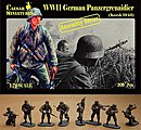 WWII German Panzergrenadier Kursk 1943 -- Plastic Model Military Figure -- 1/72 Scale -- #7715