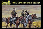 1/72 WWII German Cavalry Division (12 Mtd)