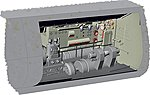 1/72 German U-Boat Type IX C Electric Motor Section for RVL