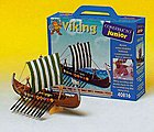 Junior Drakkar Viking Sailing Ship w/solid wood hull (Beginner)
