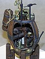 David Bushnells Turtle Submarine Revolutionary War -- Resin Model Submarine Kit -- 1/32 -- #32005
