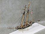 USS Revenue Alexander Hamilton Cutter (18''L) -- Plastic Model Cutter Kit -- 1/96 -- #96003