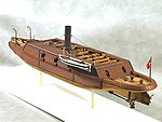 CSS Arkansas Ironclad Warship (23''L) -- Model Military Ship Kit -- 1/96 Scale -- #96004