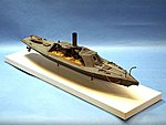 CSS Albemarle Confederate Ironclad Warship -- Plastic Model Military Ship Kit -- 1/96 -- #96006