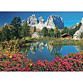 Passo Pordoi with a View to Sassolungo 1000pcs -- Puzzle 600-1000 Piece -- #39273