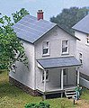 Railroad Street Company House Kit (one house) -- HO Scale Model Railroad Building -- #111