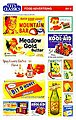 Food Advertising set of signs -- HO Scale Model Railroad Building Accessory -- #508