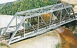 HO 150' Gusseted Girder Bridge Kit